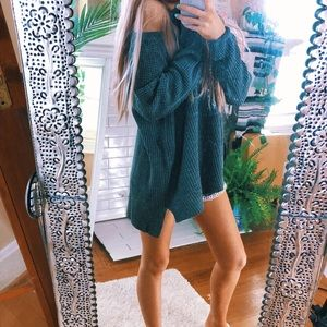 Sweaters - Chunky Fisherman's Knit Pullover // Beachy